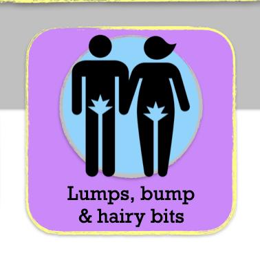 Lumps, bumps & hairy bits